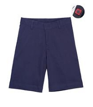 Universal 50% Off School Uniform  Stretch Bermuda Short Junior Girl - Navy
