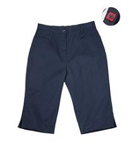 Universal 50% Off School Uniform Capri Pants Girl-Navy