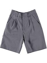 Universal School Uniform 50% Off  Pleated Front Short Boy Grey