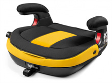 Peg Perego Viaggio Shuttle Backless Booster Seat Daytona-Yellow and Black