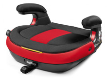Peg Perego Viaggio Shuttle Backless Booster Seat Monza-Red and Black
