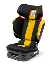 Peg Perego Primo Viaggio Flex 120 Booster Seat Daytona-Yellow and Black