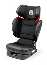 Peg Perego Primo Viaggio Flex 120 Booster Seat Licorice-Black Eco Leather