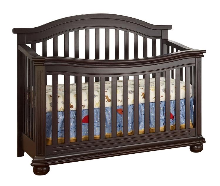 Sorelle Vista Elite Crib 4 In 1 In Espresso Ideal Baby