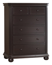 Sorelle Vista Elite 5 Drawer Dresser, Espresso