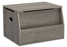 Delta Children Nolan Toy Box in Crafted Limestone