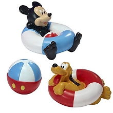 First Years Disney Mickey Bath Squirter 3 Pack
