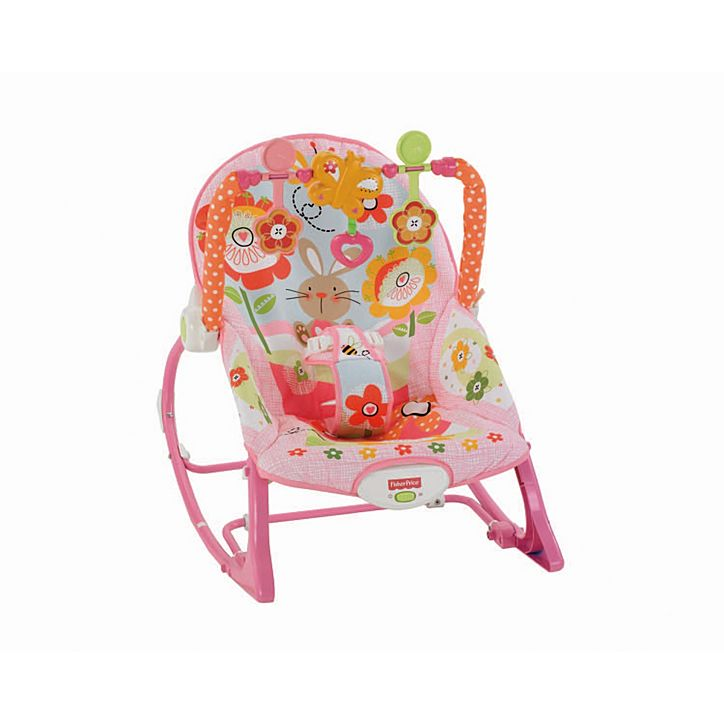 Sensational Fisher Pirce Infant To Toddler Bouncer Rocker Pink Machost Co Dining Chair Design Ideas Machostcouk