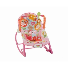 Fisher Pirce Infant to Toddler  Bouncer Rocker Pink