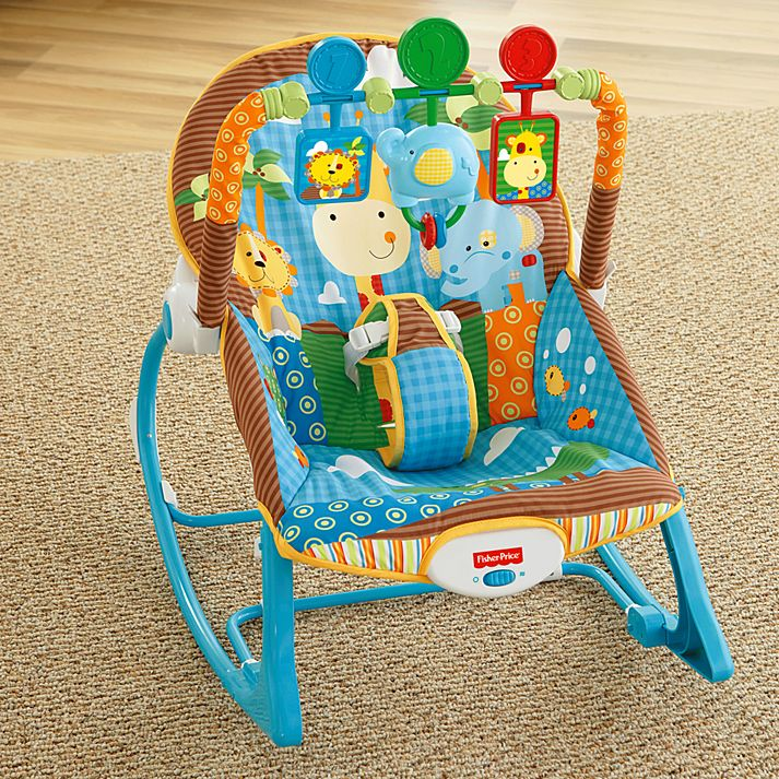 Peachy Fisher Price Infant To Toddler Rocker Jungle Fun Machost Co Dining Chair Design Ideas Machostcouk