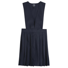 French Toast 50% Off School Uniform Girls V-Neck Jumper, Navy