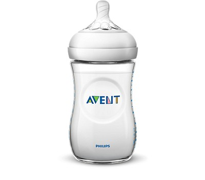 Avent Natural Bottle Clear, 9oz