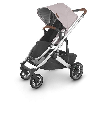 Uppababy Cruz V2 Stroller Alice (Dusty Pink/Silver/Saddle Leather)