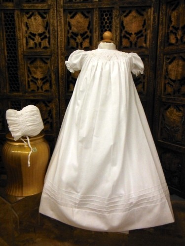 Will'beth Christening Gown with Bonnet