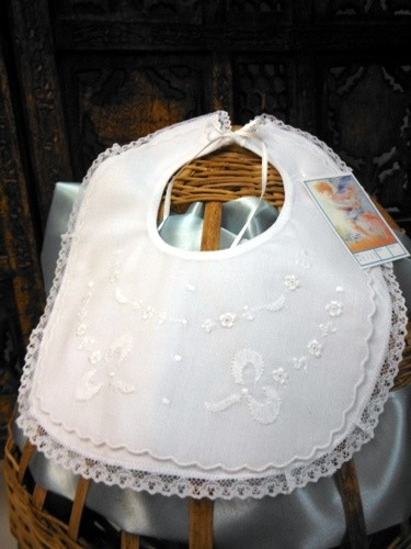 Will'beth Baby Lace Bib's