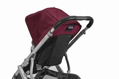 Uppababy Leather Handlebar Cover for VISTA and VISTA 2, Black