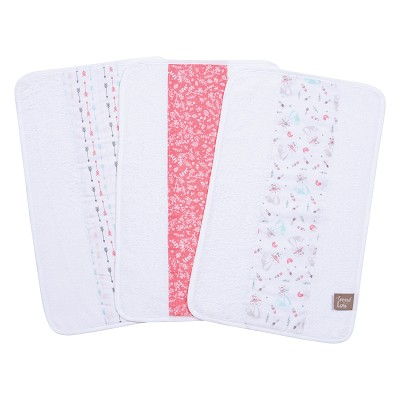 Trend Lab Fox and Feather Burp Cloth 3 Pack