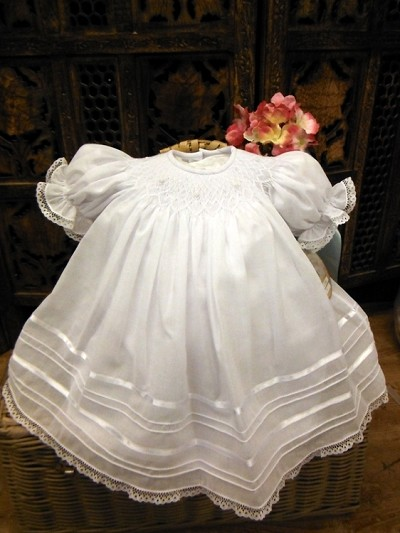 Will'beth Christening Bishop Dress