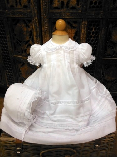 Will'beth Short Christening Gown