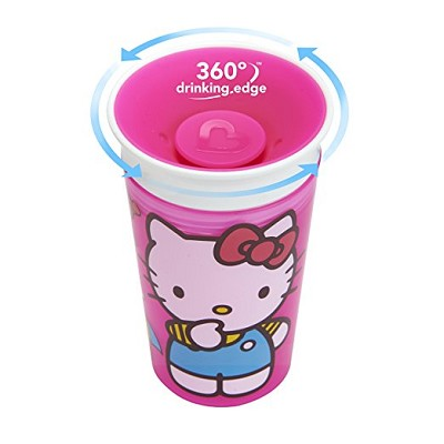 Munchkin Hello Kitty 9oz Miracle 360 Sippy Cup