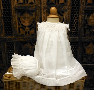 Will'beth Bishop Christening Dress Set