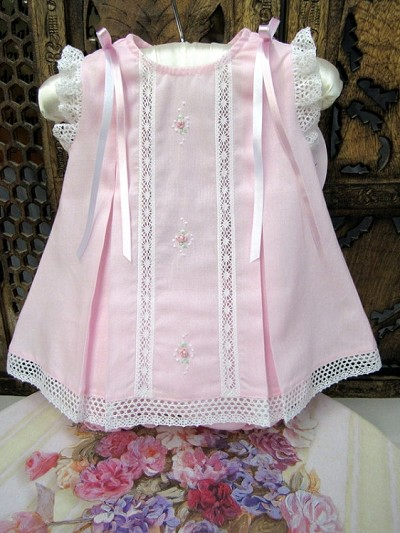Will'beth Sweet Pink Ribbon Dress