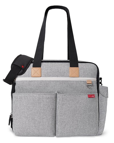 Skip Hop Duo Weekender Diaper Bag Grey