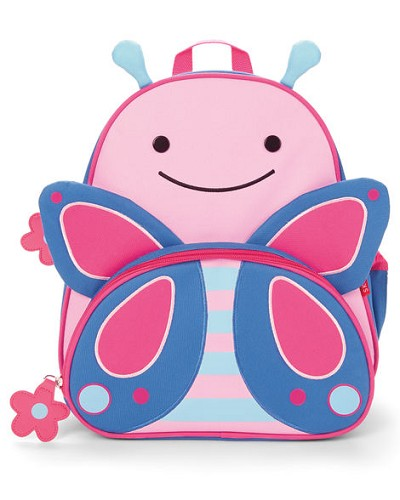 Skip Hop Zoo Little Kid Butterfly  Back Pack