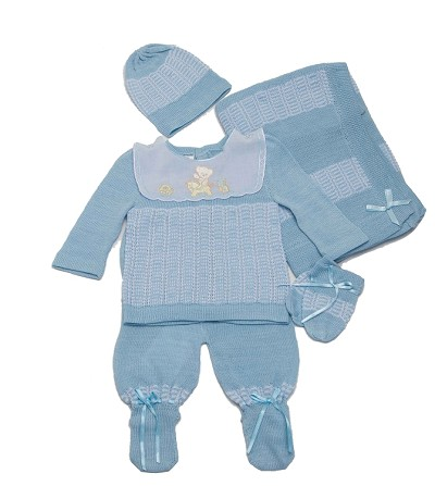 Karela Bear in The Horse Knitted Boy Set