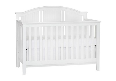 SuiteBebe Anaheim Lifetime Crib in White