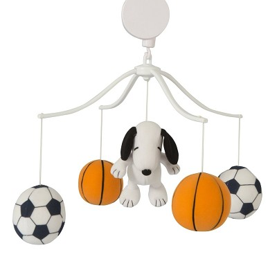 Lambs & Ivy Snoopy Sports Musical Mobile