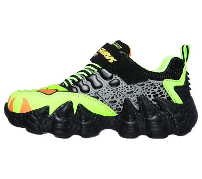 Skechers S Skech-O-Saurus Light Black/Lime