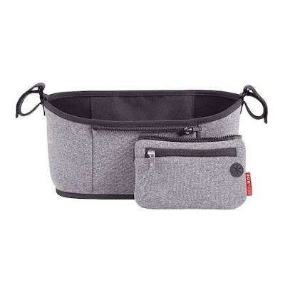 Skip Hop Grab & Go Stroller Organizer,Heather Grey