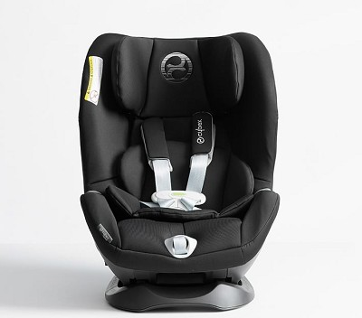 Cybex Sirona M SensorSafe Car Seat Convertible-Pepper Black