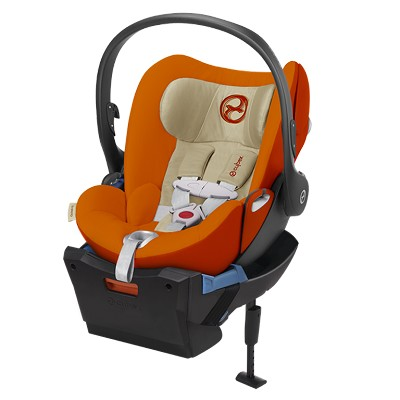 Cybex Infant Car Seat Cloud Q SensorSafe-Autumn Gold