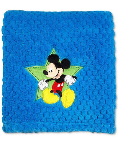 Disney Baby Mickey Mouse Popcorn Coral Fleece Blanket