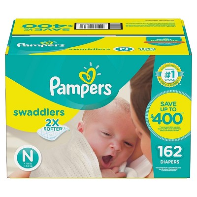Pampers Swaddles Diapers Newborn