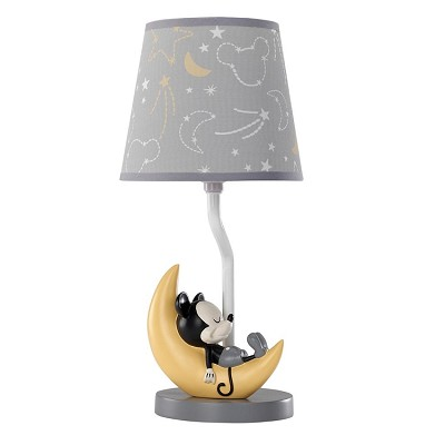 Lambs & Ivy Mickey Lamp with Shade