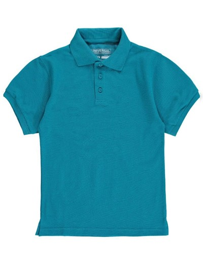 Universal School Uniform 50% Off Polo Short Sleeve Boy, Jade
