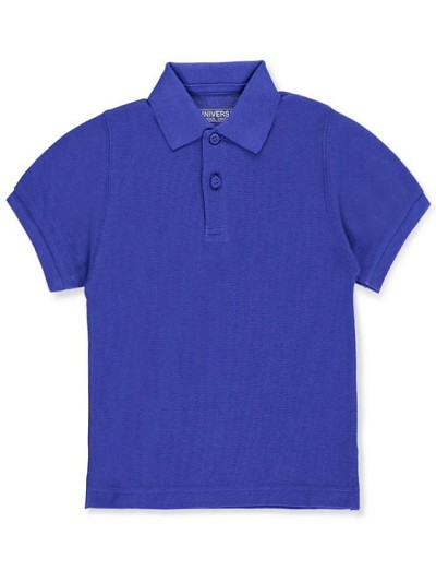 Universal School Uniform 50% Off Polo Short Sleeve Boy Royal Blue