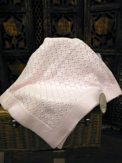 Will'beth Baby Knit Blanket