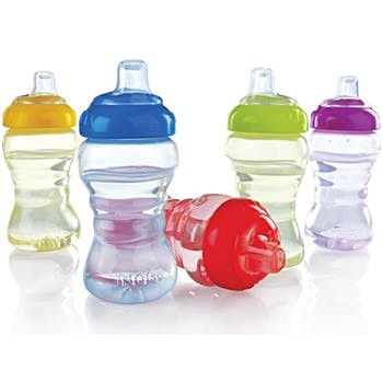 Nuby No-Spill™ Easy Grip Cup Soft Spout 10oz