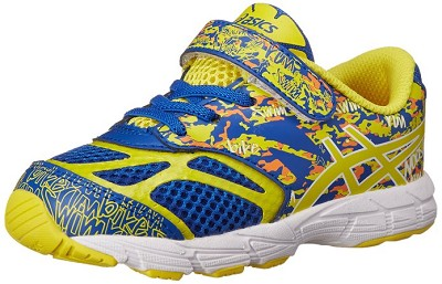 Asics 60% Off Noosa Tri 10 TS Running Shoes , Kids  - Blue/Flash Yellow/Orange