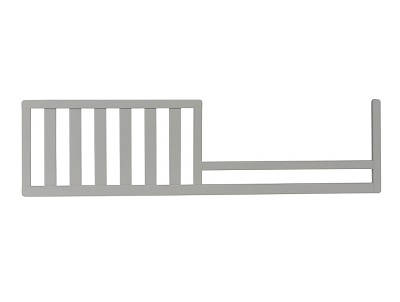 Dolce Babi Universal Convertible Guard Rail, Misty Grey