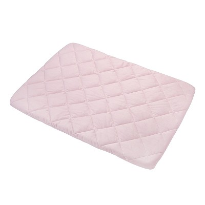 Carter's Quilted Playard Sheet, Solid Pink, One Size