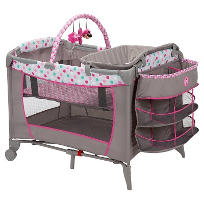 Disney Baby Sweet Wonder Playard, Minnie Dot Fun