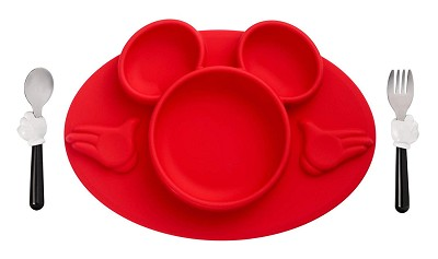 The First Years Disney Mickey Mouse 3 Pieces Mealtime Set