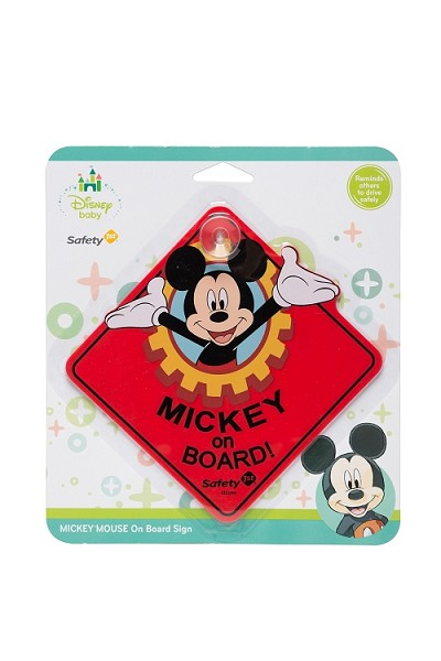 Dorel Safety 1st Mickey Bob  Board Sign