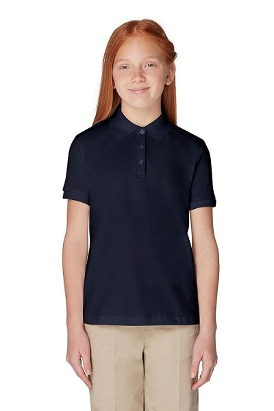French Toast 50% Off  School Uniform Polo Girl, Navy