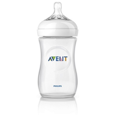 Avent Natural Baby Bottle, 9oz Slow Flow 1m+